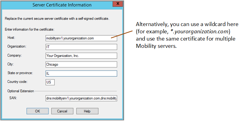 Generating A Self Signed Digital Certificate